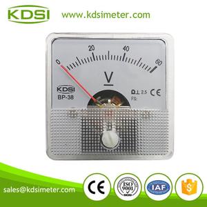 指針式直流伏特表 BP-38 DC60V