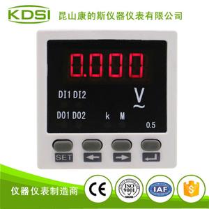 單相數字顯電壓表 BE-48 AA220V電源220V