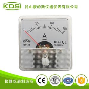 指針式直流電流測量儀 BP-38 DC60mV 600A