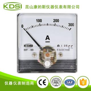 指針式直流毫安電流表BP-60N DC1mA 300A