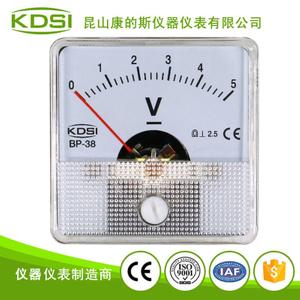 指針式小型直流伏特表BP-38 DC5V