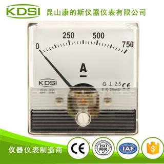指針式直流電流表 BP-60N DC75mV 750A 電焊機專用表頭