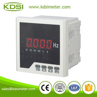 測量數顯儀表 BE96 55-65HZ 220V 數字顯示頻率表
