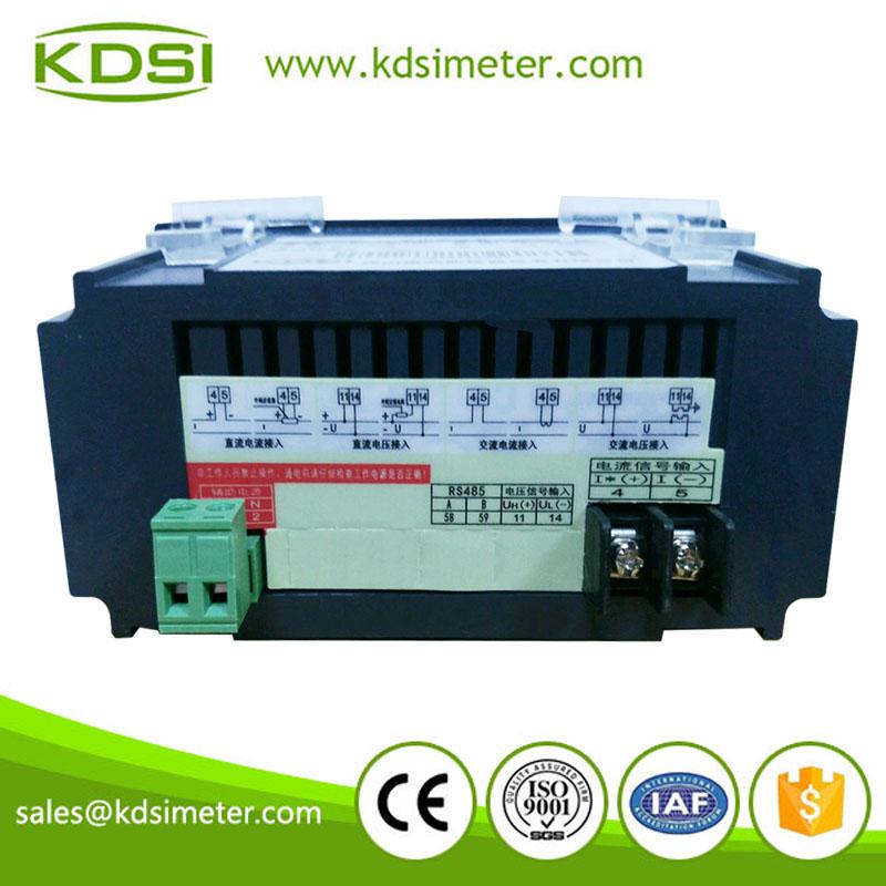 單相數顯交流電流表BE-96*48 AA AC2000-5A電源220V
