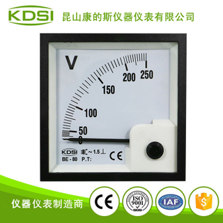 指針式交流電壓表BE-80 AC250V