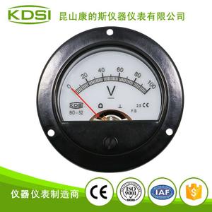 指针式直流电压表 BO-52 DC100V背光表