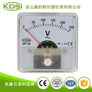 指針式整流電壓表 小型電壓測量儀器儀表BP-38 AC250V