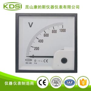指针式直流电压表BE-96 DC1000V