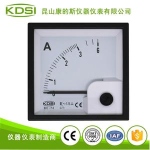 指針式交流安培電表頭 BE-72 AC3A