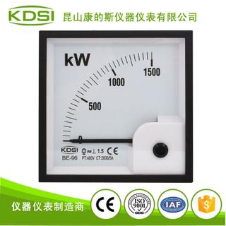 指針式功率表BE-96 1500KW 2000/5A 480V