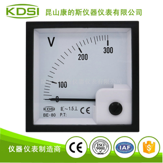指針式交流電壓測量電表頭BE-80 AC300V