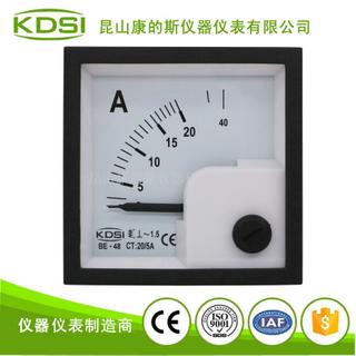 熔噴布機電流測量指針顯示表頭BE-48 AC20/5A