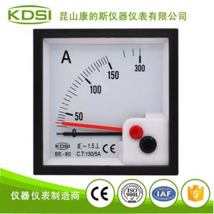雙指針顯示電流表BE-80 AC150/5A