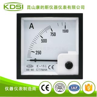 指針式方形安培表BE-80 AC750/5A