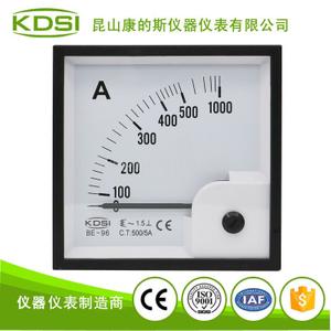 指針式交流電流表 BE-96 AC500/5A