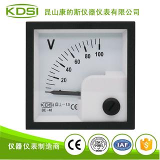 指針式直流伏特表 BE-48 DC100V