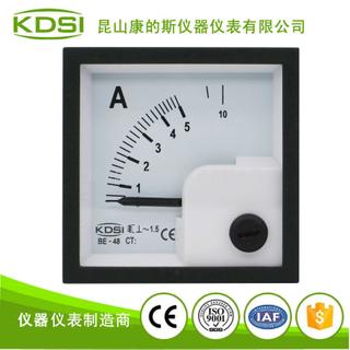 配電柜電流儀表 指針式交流安培表BE-48 AC5A