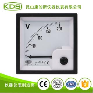 指針式整流型交流電壓表 BE-72 AC200V