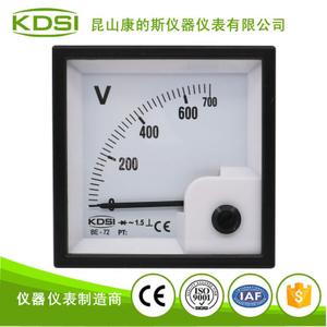 指針配電柜電壓儀表BE-72 AC700V整流式