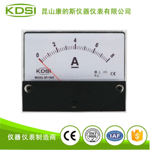 指針式直流電流表BP-100S DC8A